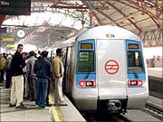 Delhi Metro train derails; no one injured - Rediff.com India News