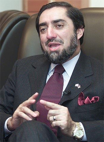Dr Abdullah Abdullah, Karzai's main rival