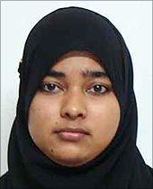 Wearing a headscarf is not a crime :  Ayesha Ashmin, Student of SVS Government College in Bantwal