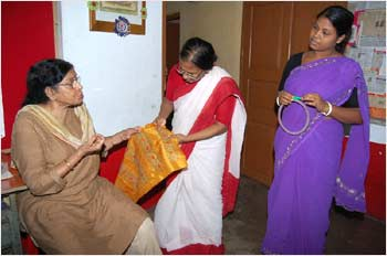 Banerjee, Das and Tagar Mitra, another social worker at Nishtha.