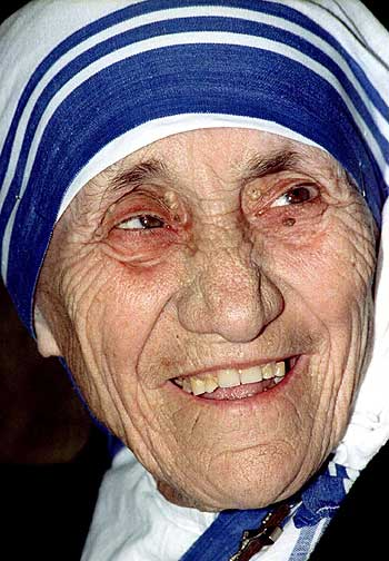 Mother Teresa. A file picture