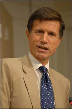 US Assistant Secretary of South Asian Affairs Robert Blake