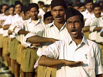RSS volunteers take their oath