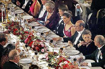 The Secret of the Nobel Prize dinner - Rediff.com News