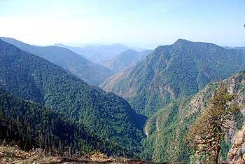 The Kumaon hills