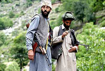Terrorists at Pakistan occupied Kashmir