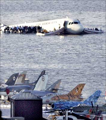155 passengers aboard a US Airways airbus had a miraculous escape in Jan, 2009