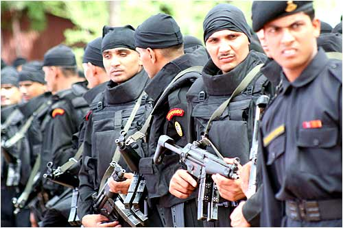 The NSG hub in Hyderabad will initially station 241 commandos