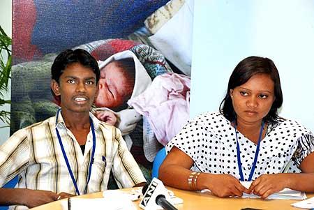 Sanjukta Pangi with Samuel Venkatesh
