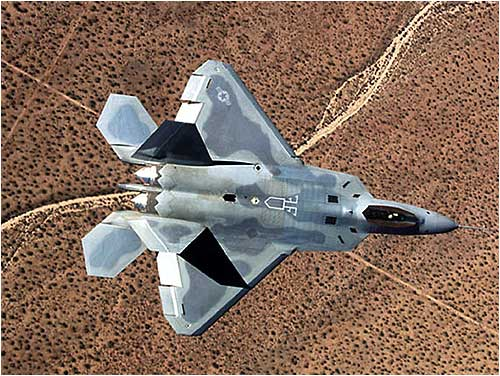 The F-22 Raptor, the most advanced US fighter aircraft