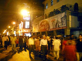 Leopold Cafe in South Mumbai, scene of the start of the terror attack, wears a normal look now