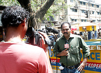 Principal correspondent of Aaj Tak, Aziz Chandra, has been covering Kasab's trial from day 1