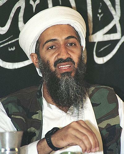 File photo of Osama bin Laden in Afghanistan