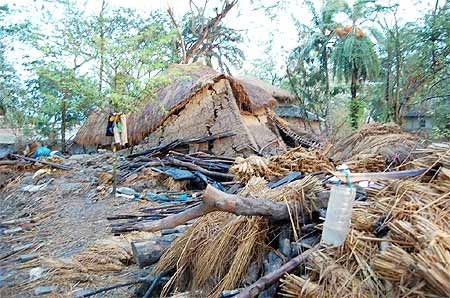 The destruction wrought by Cyclone Aila