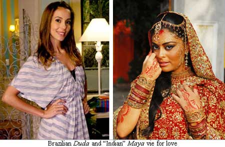 Brazilian actors in the soap