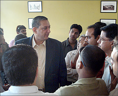 Rakesh Maria at the Press Club