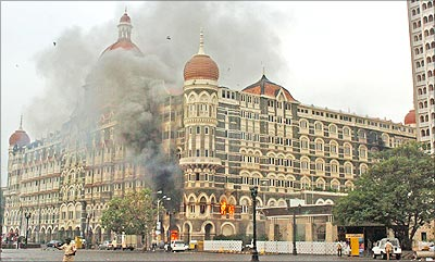 The Taj under attack