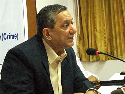 Mumbai ATS chief Rakesh Maria