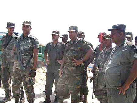 The Lankan army crushed the LTTE