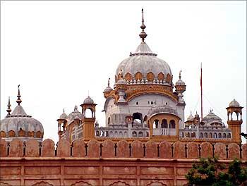 Ranjit Singh's mausoleum in Lahore.