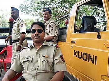 Inspector Kishorekumar Shinde
