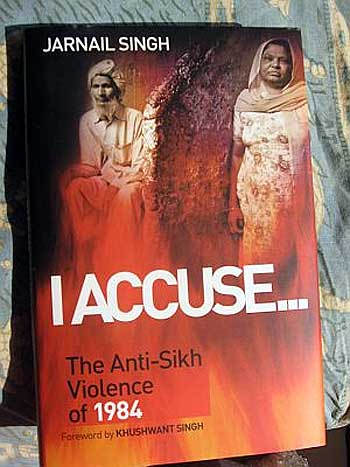 The cover of Jarnail Singh's book.