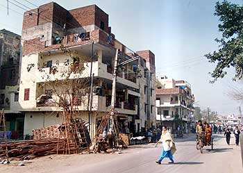 The Tilak Vihar area in New Delhi, one of the worst affected in the 1984 riots.