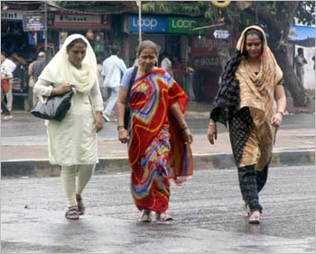 Mumbaikers suddenly caught unawares from the heavy showers since on Tuesday.
