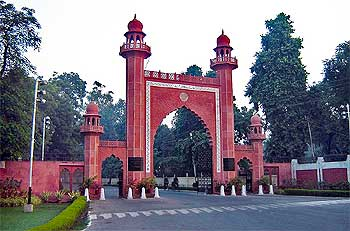 Entrance to the Aligarh Muslim University.