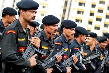 National Security Guard commandos.