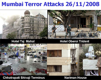 The places that came under attack last year.
