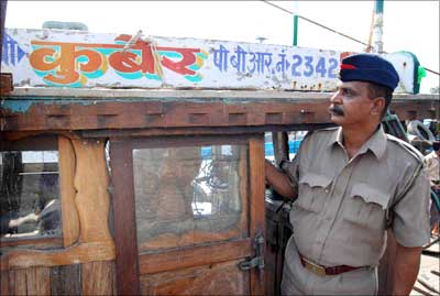 The Kuber, the boat used by the terrorists.