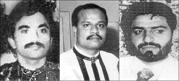 Anis Ibrahim, Chhota Shakeel and Tiger Memon