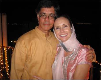 Alan Scherr with Helen Connolly.