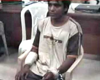 Ajmal Kasab in custody
