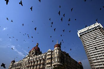 A view of the Taj Hotel, which too was hit during the 26/11 attacks