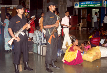 Commandos stationed at CST