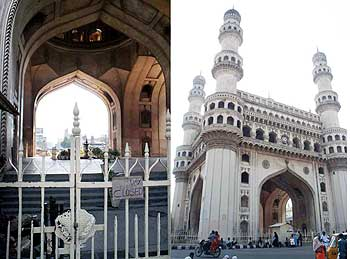 Gates of Charminar were locked up