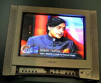 Tharoor on The Colbert Report show