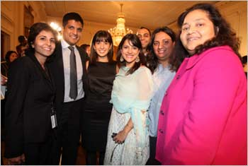 Indian Americans at the White House celebrations
