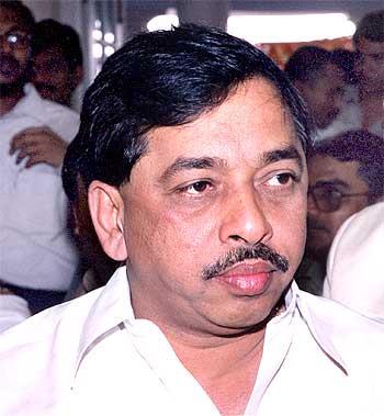 Maharashtra Revenue Minister Narayan Rane
