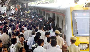 Another picture from Dadar station