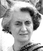 Indira Gandhi