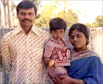 A file photo of the young Reddy family