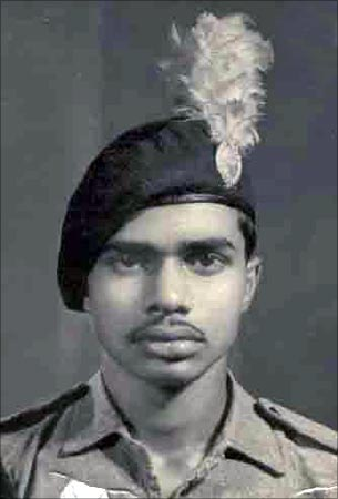 YSR as an NCC cadet. He is a qualified medical doctor, but fate had other plans for him