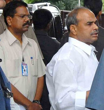 The late Andhra Pradesh Chief Minister YSR Reddy