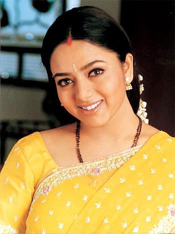 South Indian actress Soundarya