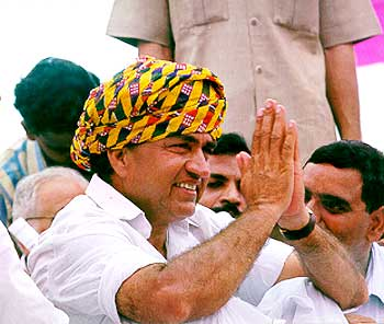Congress leader Rajesh Pilot