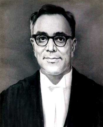 A portrait of Mohan Kumaramangalam