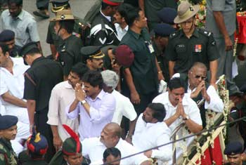 Jagan Reddy, son of the late YSR